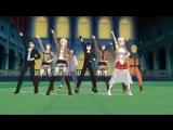 АНИМЭ. Танцевальная мультфильм-вариация супер-популярной мелодии из КИТАЯ.