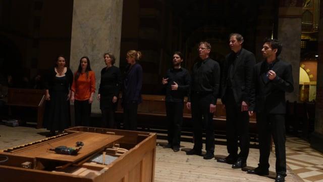 Genetic Choir feat. Bulgarian Voices of the Pauni Trio. Tebe poem (Dobri Hristov)