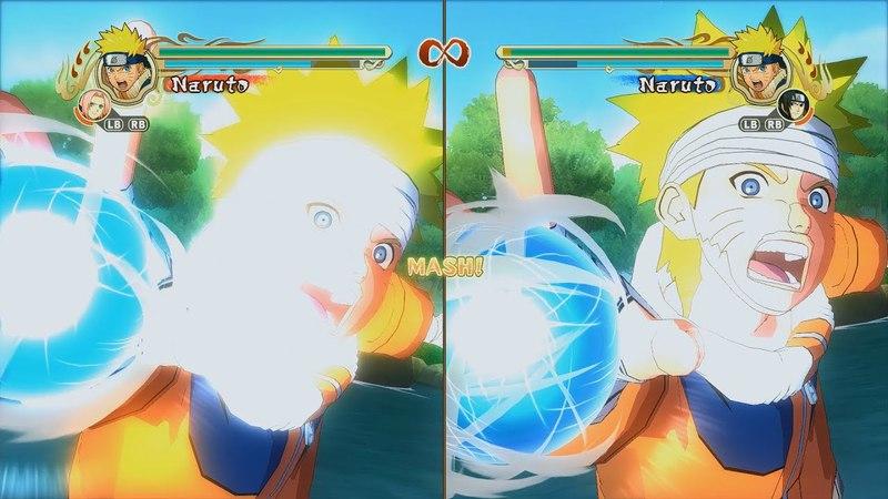 Naruto Ultimate Ninja Storm Legacy Trilogy PC MOD 60 FPS All Jutsu Clashes 1080p