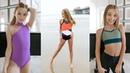 Ell, Brightyn, and Allie Slideshow Wearing Five Dancewear Winter 2018