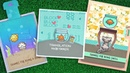 Intro to Keep on Swimming, Reveal Wheel Keep on Swimming Add-On 3 cards from start to finish