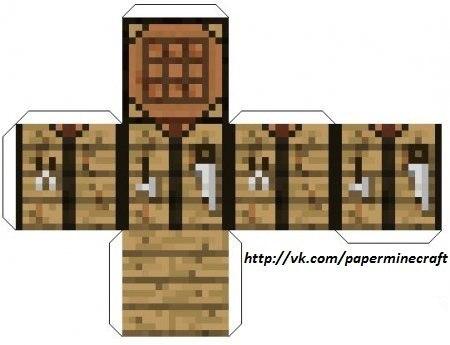 Minecraft из lego бумаги и игры