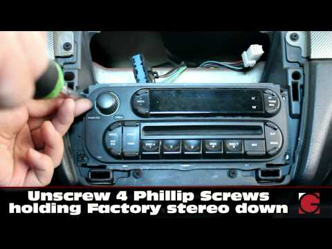 How to install GROM Bluetooth iPhone Android USB car kit into Chrysler Sebring 2002-2005