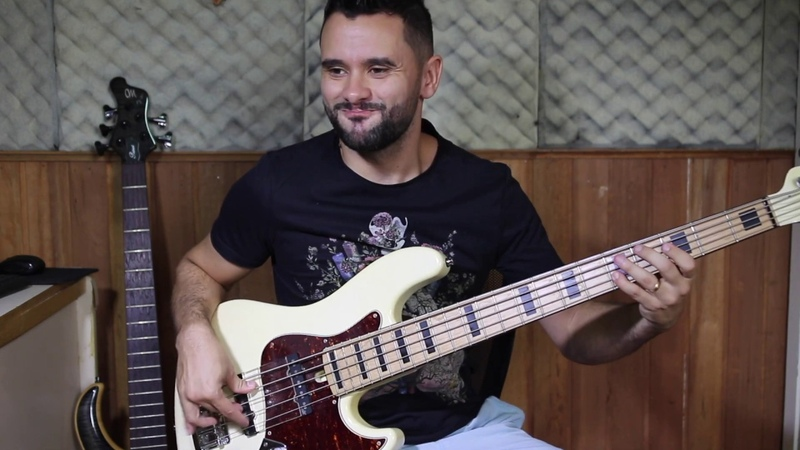 JUNIOR BRAGUINHA - Bass solo (Mayones Jabba)