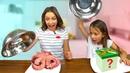 ОБМАНИ МАМУ Челлендж ЗАМЕНА Mystery Box Cake Switch Up Challenge Вики Шоу