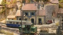 Amazing French Model Railroad Diorama Mouville by Henk Wust and Jan van Mourik