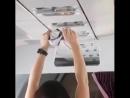 Китаянка в самолёте