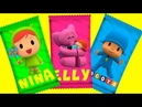 🌈 Learn Colors with Pocoyo Family 🌈 | Pocoyo ABC Song - Alphabet Song Nursery Rhymes for Children