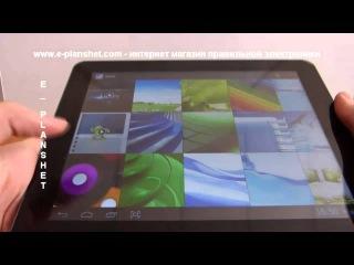 Рускоязычный видео обзор интернет-планшета Ainol Novo 9 Spark.