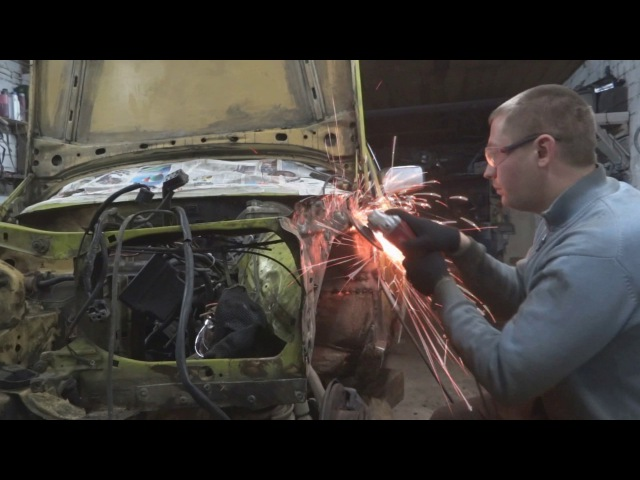 MB W123 OLD MAN - 1 Серия: возвращение к жизни