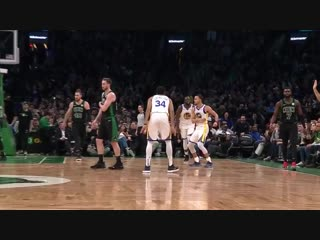 Stephen Curry Hit The Shimmy Dance Before 3-Pointer Went In vs. Boston Celtics