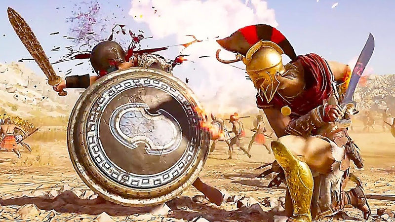 Assassin's Creed Odyssey NEW Combat Gameplay Trailer (2018) PS4/Xbox One/PC