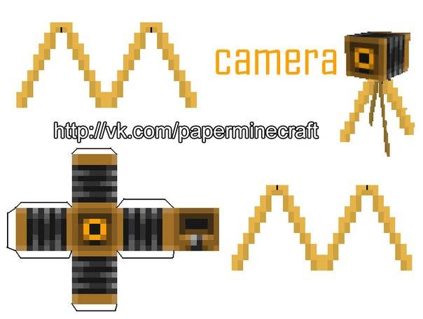 Видео-камера Minecraft.