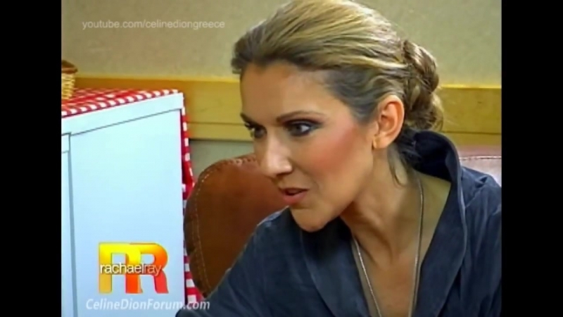 Celine Dion on Rachael Ray Show, 2008