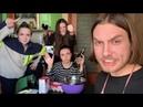 Четверо друзей собрались вместе, напились и приготовили хачапури по-аджарски
