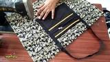Travel Bag New Design Make at homeCutting and Sewing Mana Vantalu