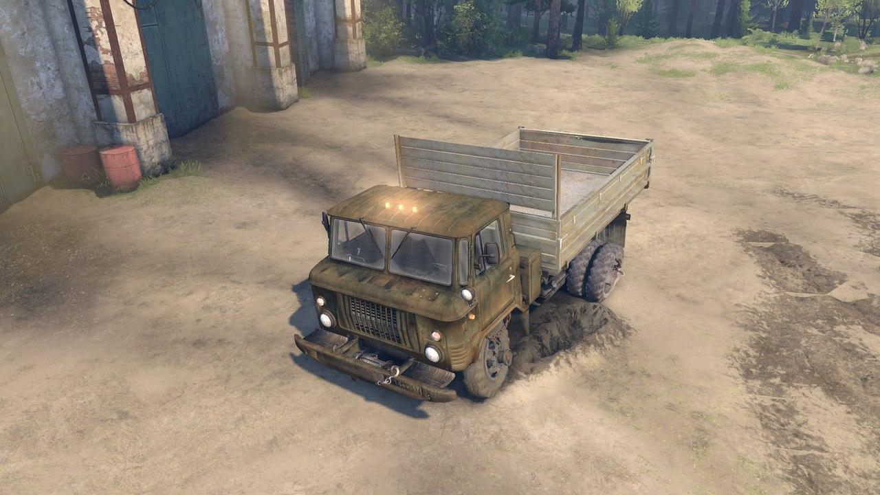 ГАЗ САЗ 3511-66 v1.1 для версии 13.04.15 для Spintires - Скриншот 3
