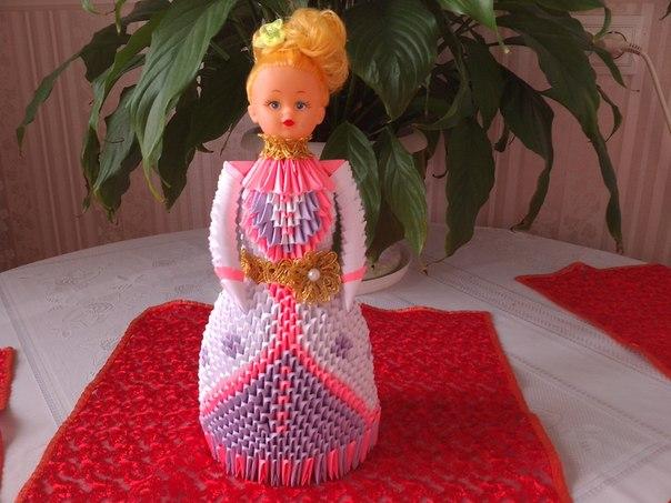 Как сделать вазу для кукол барби