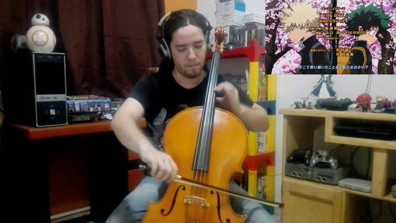 Boku no Hero Academia The Day cello cover Stephan Bookman
