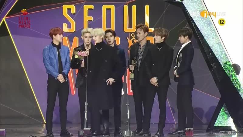 [VK][190115] MONSTA X - Bonsang @ 28th Seoul Music Awards