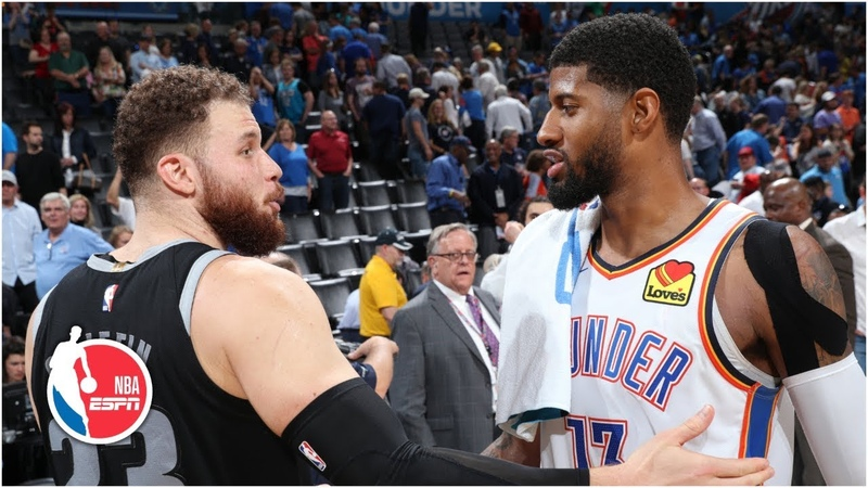Blake Griffin's 45 not enough as Paul George's 30 leads Thunder past Pistons NBA Highlights