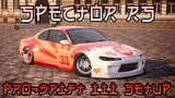 CXDR2 Spector RS Pro-Drift III Custom Setup (Nissan Silvia S15)  CarX Drift Racing 2 HD