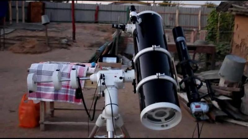 тогда телескоп был в селе, 2012 год вроде