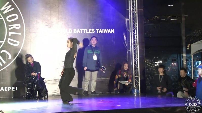 龍 VS frankie [ Best 16-3 ] - 2019 KOD TAIPEI WAACKING 1ON1