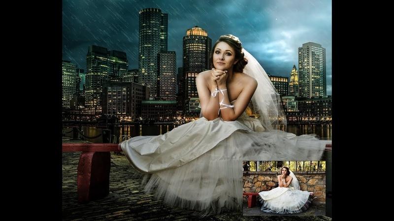 Photoshop İşlemleri Düğün Fotoğrafları Düzenleme || Fotoğrafçılar mutlaka İzlesin