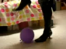 Hot Sexy College Girl Balloon Fetish [