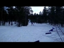 Спартакиада лыжная гонка ,трудовые резервы г.Ноябрьск