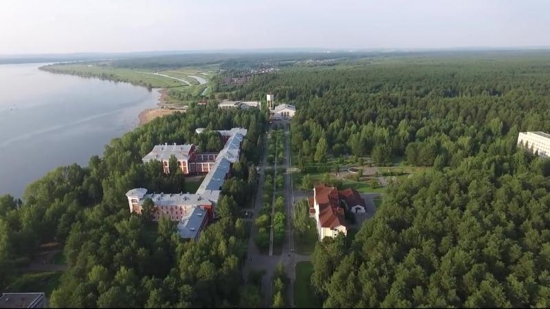 Полёт над курортом Усть-Качка.