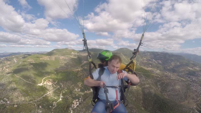 Полёт на параглайдинге г.Аланья