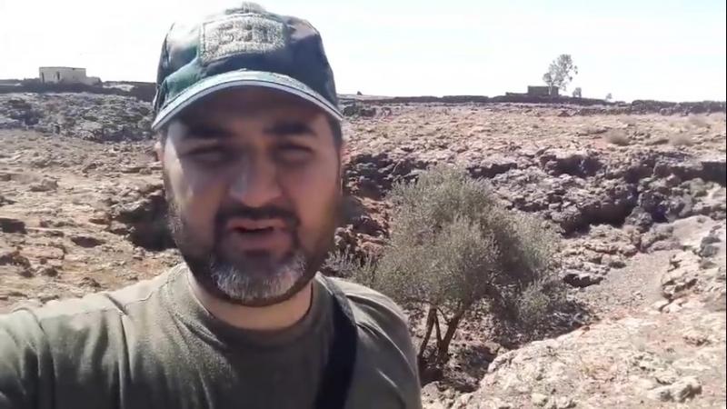 24.06.18 - съёмка у деревни Хоуш Хамад (регион Аль-Ладжа)