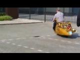 Парусный скутер или Артур Ван Поппель