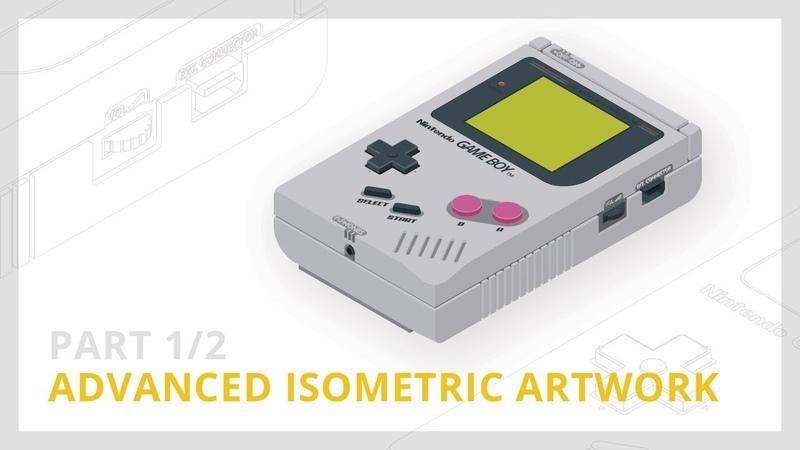 Advanced Isometric Artwork [12] | Illustrator Tutorial