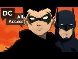 Сын Бэтмена Первое Эксклюзивное Видео о Создании Мультфильма / Son of Batman - Exclusive Clip + Sandman Overture [HD] English