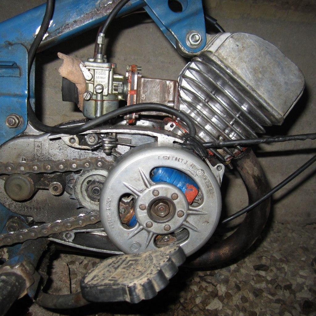 Как сделать свет на мотороллере от магнето