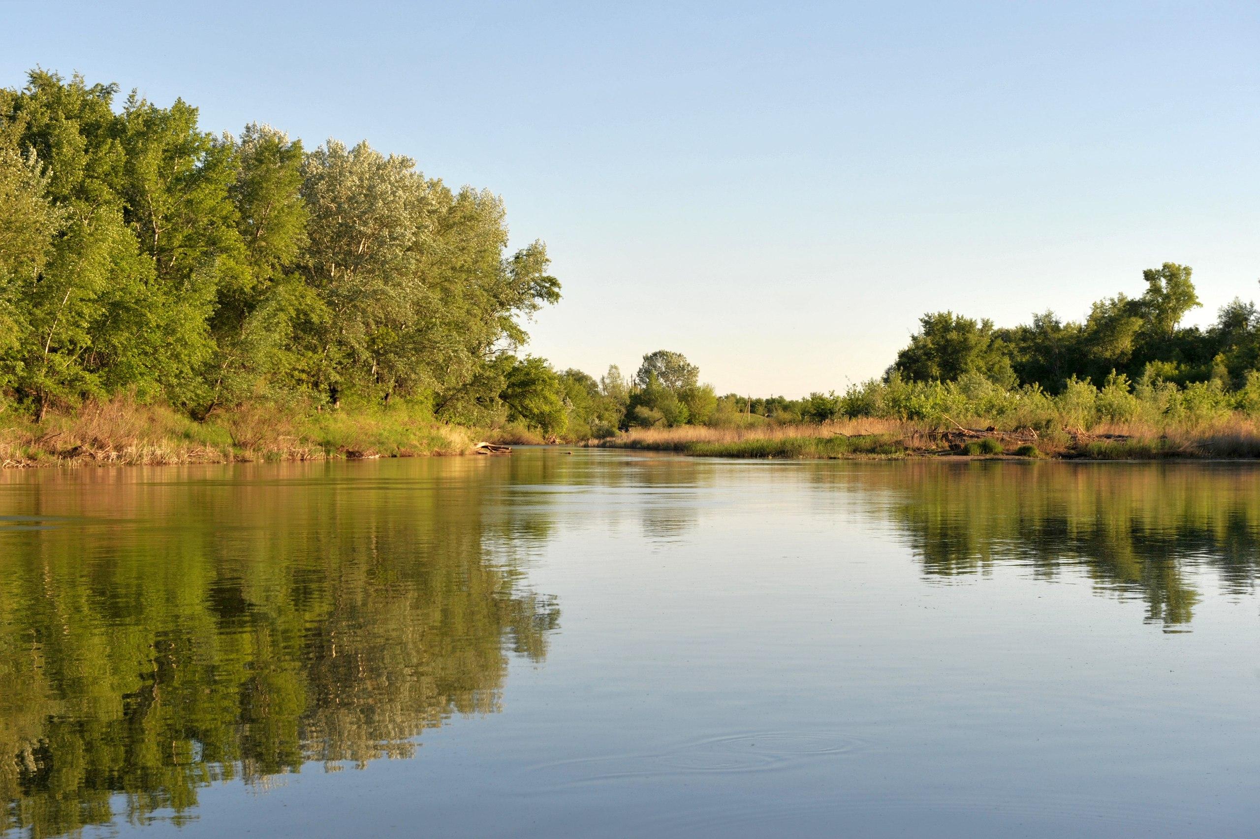 Фото реки урал в оренбурге