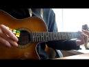 Песня из Шрека на гитаре с помощью кубика Рубика.