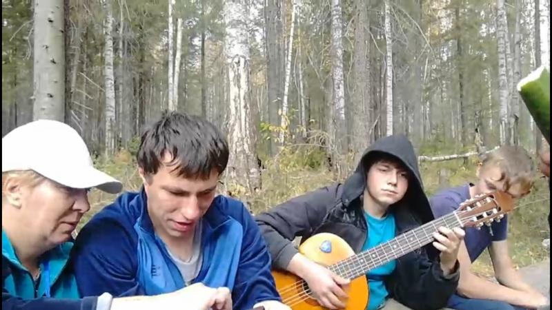п. Кузино - Поход школы №36- 2018 г.