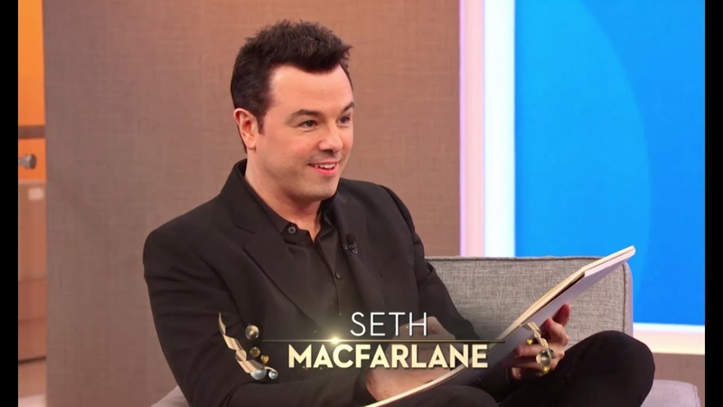 FRIDAY! Seth MacFarlane Skin Care Tips with Kate Somerville!