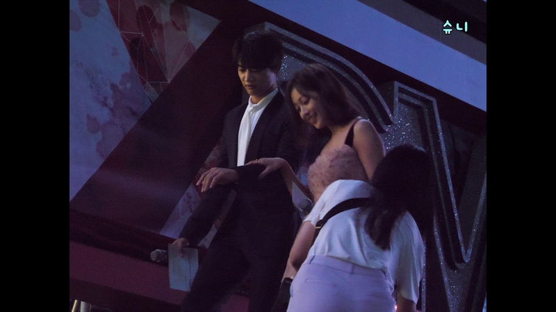 20180908 DMC 코리안 뮤직 웨이브 MC민호의 에스코트-조심조심