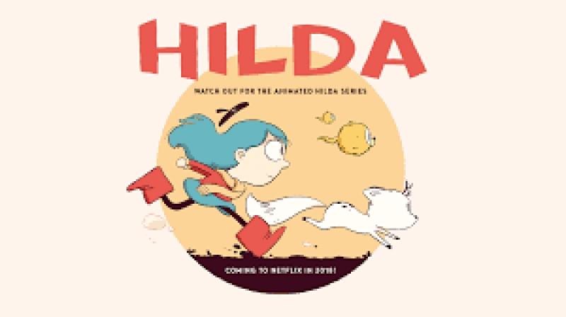 Hilda - новый мультфильм от netflix