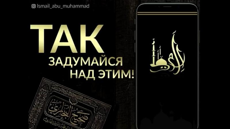 ✨ Исмаил Абу Мухаммад