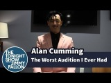 Worst Audition I Ever Had: Alan Cumming (Алан Камминг на шоу Джимми Фэллона, запись от 25 апреля 2014)