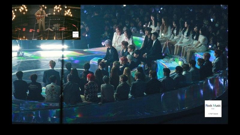 로이킴 (Roy Kim) 그때 헤어지면 돼 (Reaction)(BTS, 워너원, 여자친구, 더보이즈, 볼빨간사춘기)@181201 락뮤직