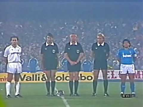 NAPOLI vs REAL MADRID 1987 andata e ritorno