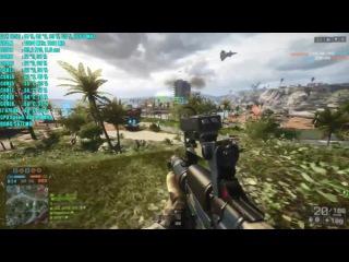 Battlefield 4 GTX 1050 2GB OC (Multiplayer) 1080p | Фреймрейт ТЕСТ