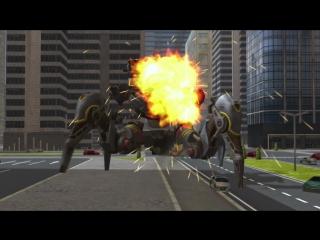 Rayker, Blitz и Invader — Обзор Роботов